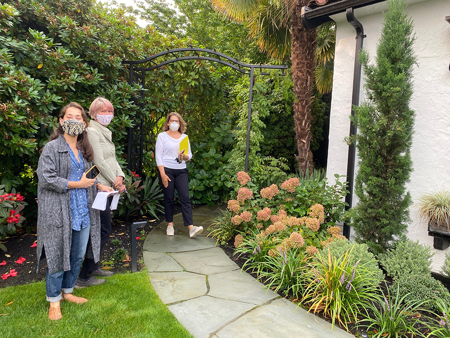 Socially Distanced Garden Tour