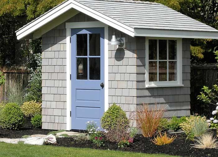 Garden storage, garden shed, garden style