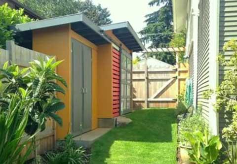 Garden storage, modern design, garden shed
